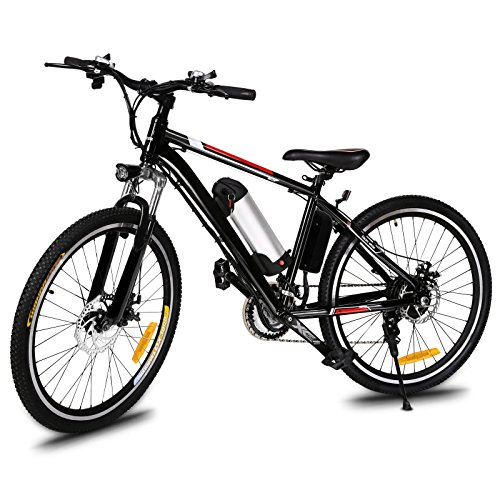 Electric Bike 26'' Electric Bicycle 21 Speed 36V...