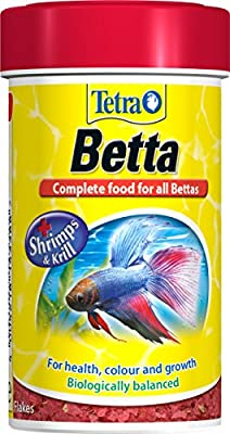 Tetra Betta Fish Food, Complete Fish Food Biologically Balanced for All Bettas, 100 ml from Spectrum Brands
