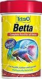 Tetra Betta Alimento de Peces, Biológicamente Equilibrado, Alimento Completo para Todos los Bettas, 100 ml