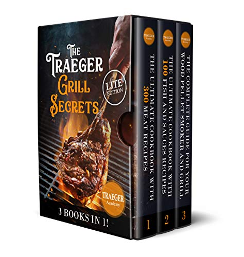 3 Books In 1 • The Traeger Grill...
