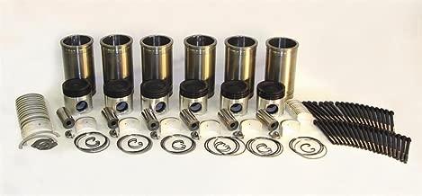 Nu-Line 21030 - Inframe Overhaul Kit fits Cummins N14 Celect Plus Low Compression 2pc Piston