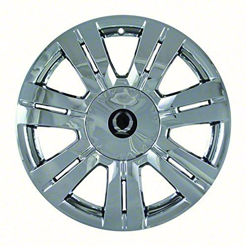 "Chrome 18"" Hub Cap Wheel Skins for Cadillac SRX - Set of 4"