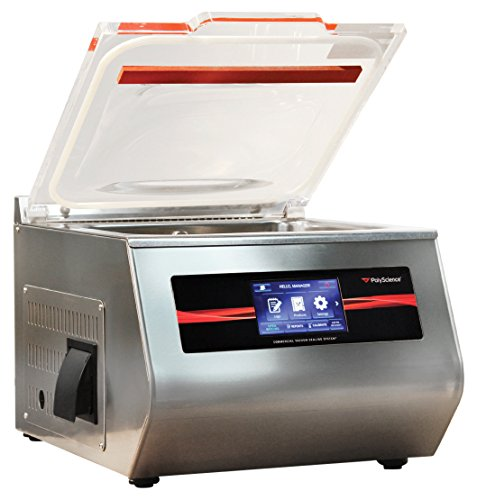 PolyScience Culinary VSCH-400AC1B Vakuumiergerät, 400 Serie, silberfarben