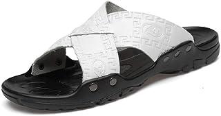 Ling Fengfeiyang Chaussures Plage,Piscine Antidérapante Tongs,Sandales antidérapantes à Fond Souple de Grande Taille, Chau...