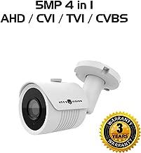 Ares Vision 5 MP 4 in 1 AHD/TVI/CVI/CVBS 3.6MM Bullet CCTV Camera w/IR Night Vision