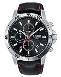 Lorus Orologio Cronografo Quarzo Uomo con Cinturino in Pelle RM313FX9