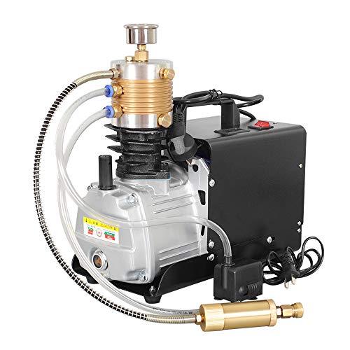 HUKOER Pompa elettrica del compressore d'aria ad alta pressione di ottava generazione, 300BAR 30MPA 4500PSI Sistema ad alta pressione Pompa ad aria compressa del compressore d'aria elettrico