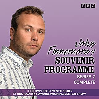John Finnemore's Souvenir Programme: Series 7                   By:                                                                                                                                 John Finnemore                               Narrated by:                                                                                                                                 full cast,                                                                                        John Finnemore                      Length: 2 hrs and 46 mins     136 ratings     Overall 4.9