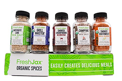 A set of spice blends is a practical gift for dads who like to cook