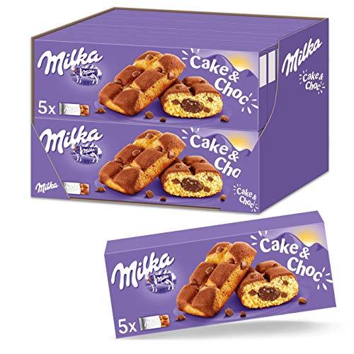 Milka Cake & Choc 16 x 175 g – Alpenmilch Mini Küchlein – Einzeln verpackt