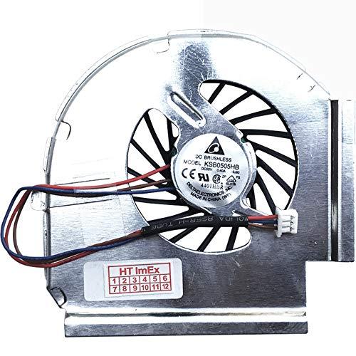 Ventilador compatible con Lenovo Thinkpad T61 (8892), T61p (8938), T61 (6470), T61p (6467), T61 (7600), T61 (8900)