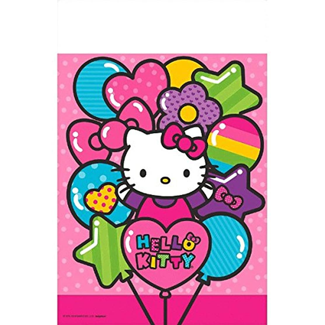 Plastic Table Cover | Hello Kitty Rainbow Collection | Party Accessory