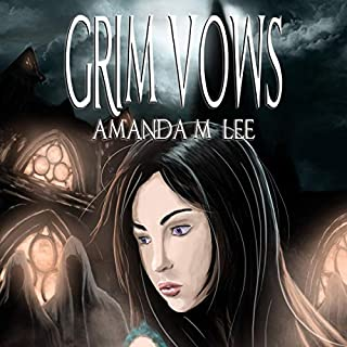 Grim Vows audiobook cover art