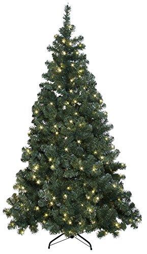Best Season 609-01 Ottawa - Albero di Natale in Abete, Illuminato LED, per Esterni