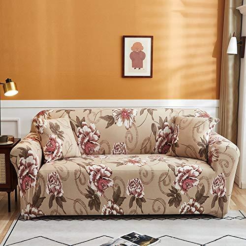 Funda de sofá elástica para Sala de Estar Funda de sofá elástica seccional Funda de sofá elástica en Forma de L Funda de sillón de Esquina A22 1 Plaza