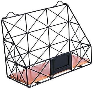 LULUDP Concentrateur USB Fer Stockage Panier boîte cosmétiques Creux Bain Rangement Panier étagères de Rangement Divers Bu...