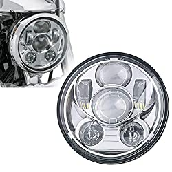 Best LED headlight for Harley Dyna