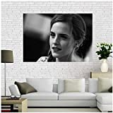 XiongDa Emma Watson Leinwand Malerei Wand Poster Stoff