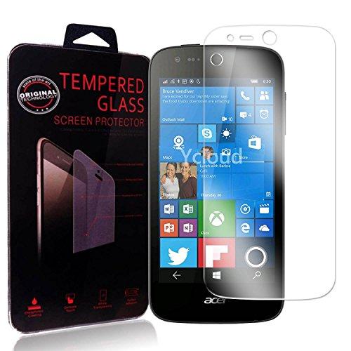 Ycloud Panzerglas Folie Schutzfolie Bildschirmschutzfolie für Acer Liquid M330 Screen Protector mit Festigkeitgrad 9H, 0,26mm Ultra-Dünn, Abger&ete Kanten