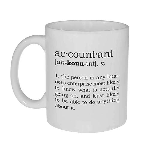 56addc66fa Accountant Definition Funny Coffee or Tea Mug