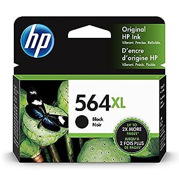 HP 564XL | Ink Cartridge | Black | Works with HP DeskJet 3500 Series HP OfficeJet 4600 5500 C6300 6500 7500 Series B8550 D7560 C510 B209 B210 C309 C310 C410 C510 | CN684WN