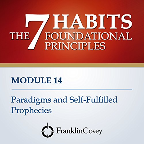 Couverture de Module 14 - Paradigms and Self-Fulfilled Prophecies