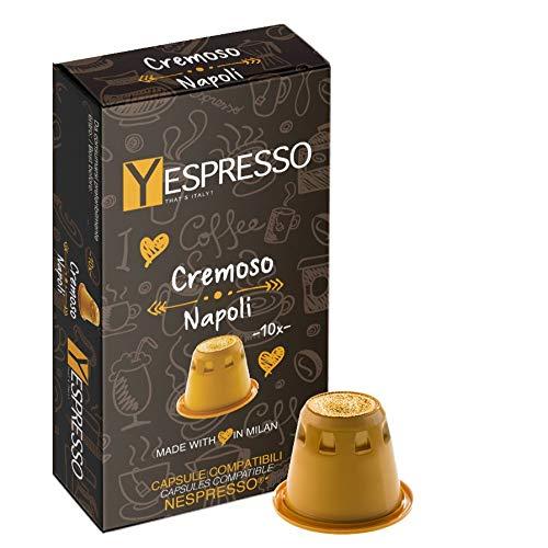 Yespresso NESPRESSO compatibili, Cremoso Napoli - 200 Capsule