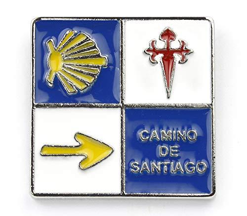 Jakobsweg [Bewahrer] Pin/Anstecker Camino de Santiago