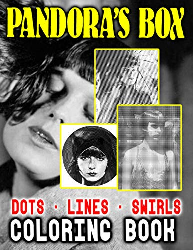 Pandoras Box Dots Lines Swirls Coloring Book: Featuring Fun And Relaxing Swirls-Dots-Diagonal Activity Books For Kids And Adults