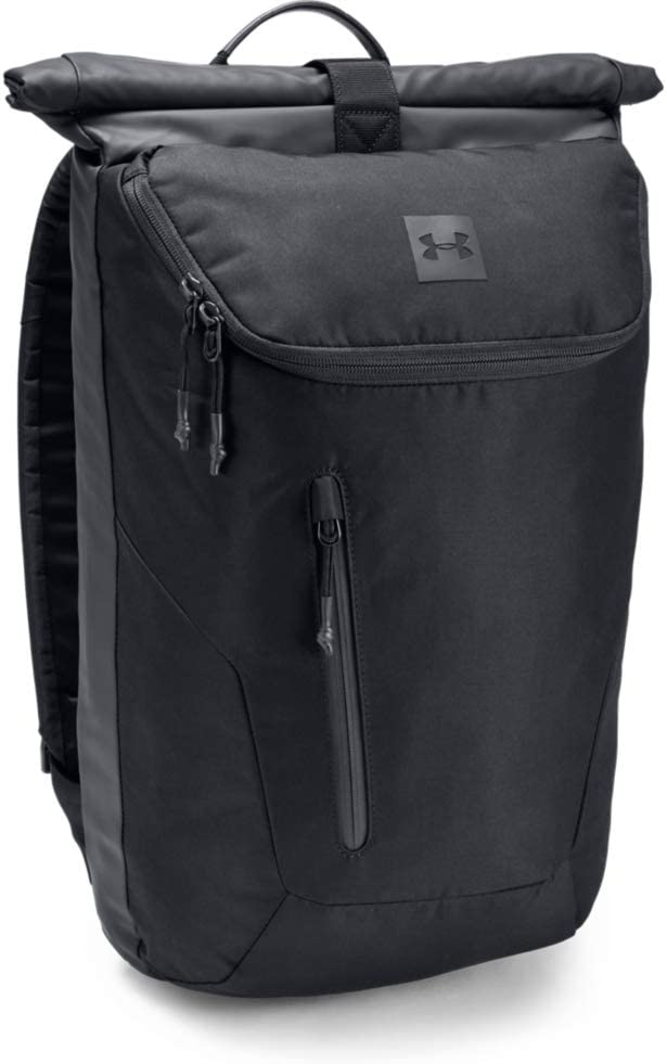 Under Armour Lifestyle Rolltop One Size Fits All Silt Brown Medium Heather////Black
