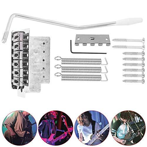 Xinwoer E-Gitarren-Parts, leicht zu tragende, hochwertige, gratfreie Oberfläche Tremolo Bridge, Geige für zu Hause
