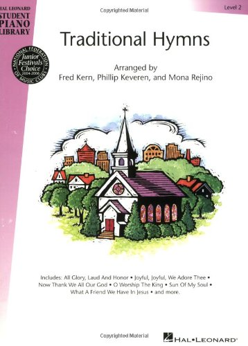 Traditional Hymns Level 2: Nfmc 2020-2024 Selection Book Only - Hal Leonard Student Piano Library