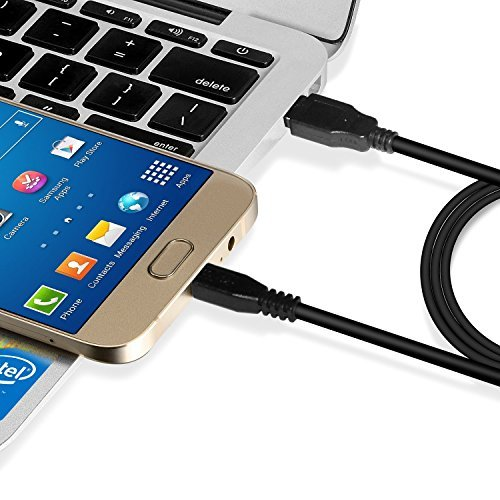 iXCC [3 Packs] 10 Feet Long Micro USB to USB 2.0 Cable, Super Durable A Male to Micro B Charge and Sync Cord for Android/Windows/MP3/Camera and Other Device
