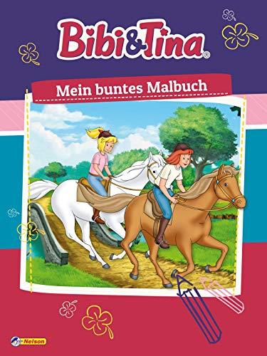 Bibi und Tina: Mein buntes Malbuch: 80 Ausmalseiten (Bibi & Tina)