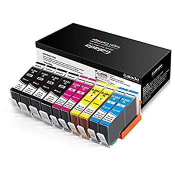 Galada Compatible Ink Cartridges Replacement for HP 564 XL 564XL for Photosmart 3520 5520 5510 5514 6320 6520 6510 7520 7510 7525 B8550 C6380 D7560 Premium 209A C309A C410 Officejet 4620 564 10pack