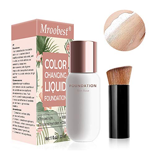 Foundation Color Changing, Fondotinta Liquido,...