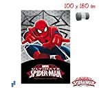 Spiderman Decke Motiv, 100 x 150 cm