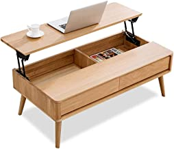 Coffee Table with Storage Lift Top Coffee Cocktail Table Multifunction Dining Table/Tea Table/Computer Table,Side Table, L...