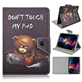 TangoTab 10 Inch Tablet Case Universal 10inch Tablet Cover,Universal Case for 9-10 inch Tablet,Stand Folio Case Protective Cover for 9' 10.1' Touchscreen Tablet, with Multiple Viewing Angles