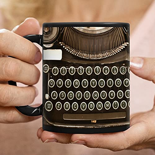 Vintage Antique Typewriter Mug