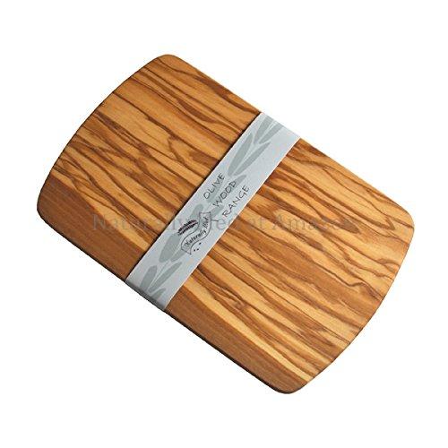 Naturally Med Planche à découper / planche à servir 22cm - en bois d'olivier