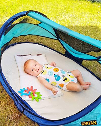 Reisebett/Zelt Deryan Travel-cot Baby Luxe, Farbe blau - 6