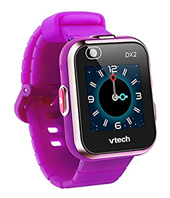 VTech KidiZoom Smartwatch DX2, Purple, Great Gift For Kids, Toddlers, Toy for Boys and Girls, Ages 4, 5, 6, 7, 8, 9 by V Tech