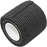 PintoMed - Venda Cohesiva - 10 x NEGRO - 10 rollos x 5 cm x 4,5 m autoadhesivo, vendaje flexible, primeros auxilios, lesiones