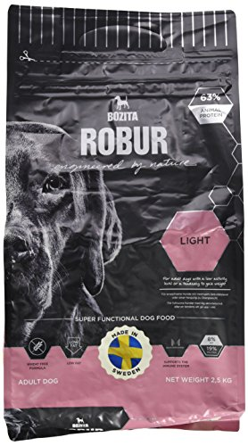 Bozita Hundefutter Robur Light 19/8, 1er Pack (1 x 2.5 kg)