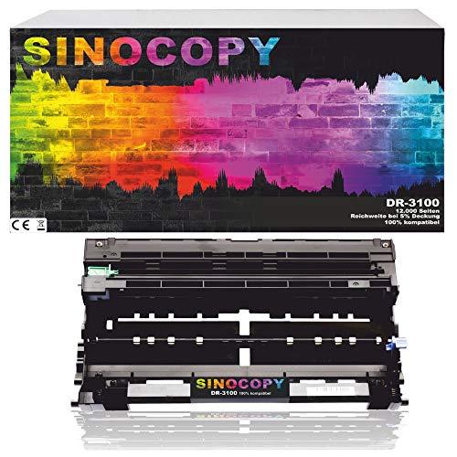 SinoCopy Trommeleinheit für Brother DR-3100 MFC 8460 DN MFC 8460 N MFC 8670 DN MFC 8860 DN MFC 8860 N MFC 8870 DW DR3100 DR-3100