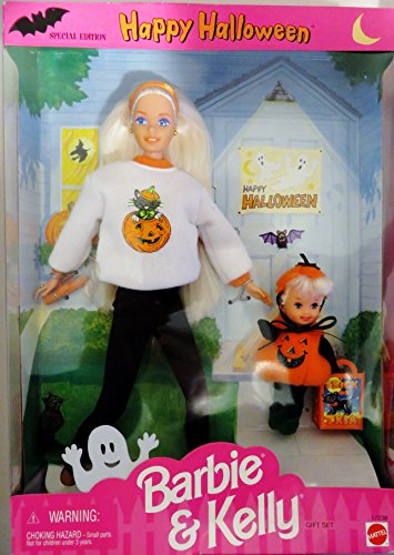 Happy Halloween BARBIE & KELLY Gift Set Special Edition (1996)
