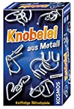 KOSMOS 711221 - Knobelei aus Metall, Knifflige Rätselspiele und spannende Knobeltricks,...