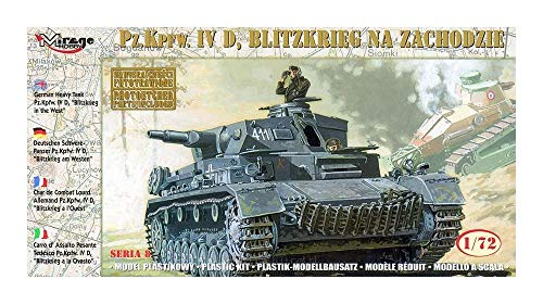 Mirage Hobby 72854, Tank PzKpfw.IV allemand, \
