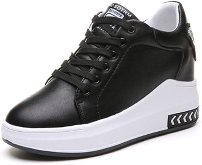 YUBUKE Women shoes Elevator Casual shoes Footwear Female Round Toe Flat Walking shoes Ladys Height Increasing shoes